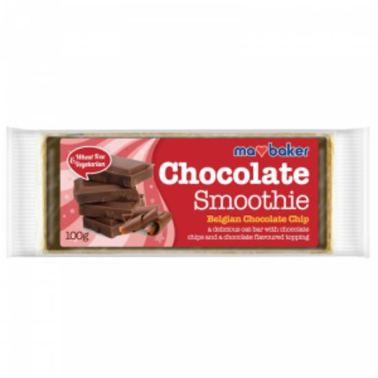 MA BAKER Chocolate Smoothie belga csokoládé darabkás zabszelet 100 g