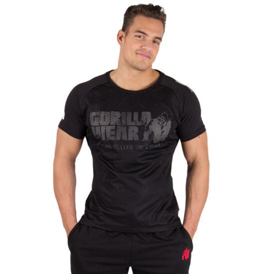 MEMPHIS MESH T-SHIRT fekete XXL Gorilla Wear