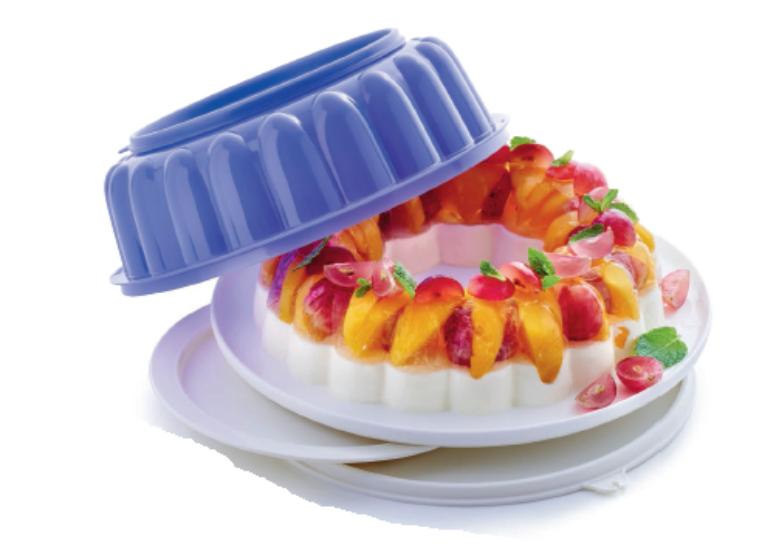 Desszertes gyűrű 1,5 L lila Tupperware
