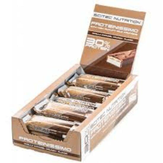 Proteinissimo BOX 15 szelet macchiato karamell crunch Scitec Nutrition