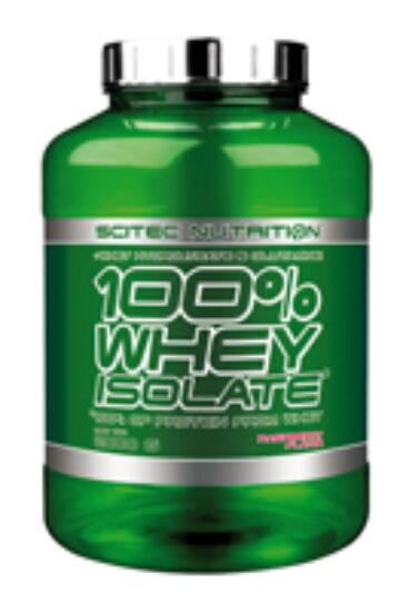 100% Whey Isolate 2000g málna Scitec Nutrition
