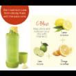 Citrus Infuser Öko palack 700 ml narancssárga, kipattintható kupakkal Tupperware