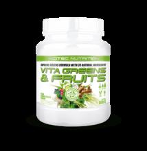 Green Series Vita Greens&Fruits 600g körte-citromfű Scitec Nutrition