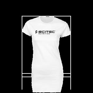 T-Shirt női fehér póló 2019 Scitec Nutrition 263a2c2b5e