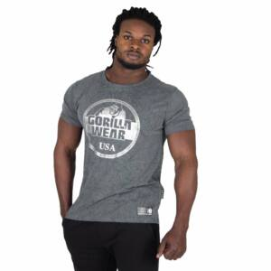 Rocklin T-shirt szürke férfi póló Gorilla Wear 796f0084d6