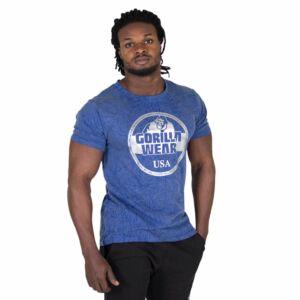 Rocklin T-shirt királykék férfi póló Gorilla Wear 51eaad0a42