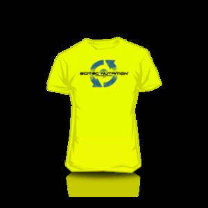 T-Shirt Neon Green  96 férfi UV zöld póló XL Scitec Nutrition 4d0bb76438