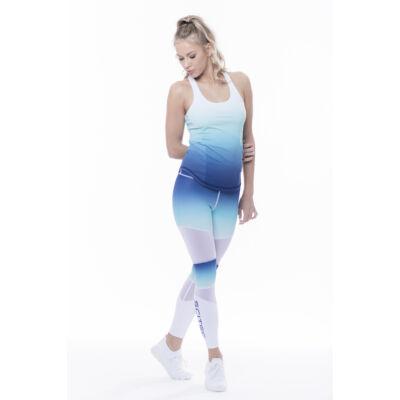 Paris Tank top női edző trikó kék Scitec Nutrition