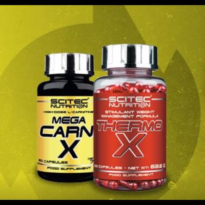 Thermo-X + Mega Carni-X szett Scitec Nutrition