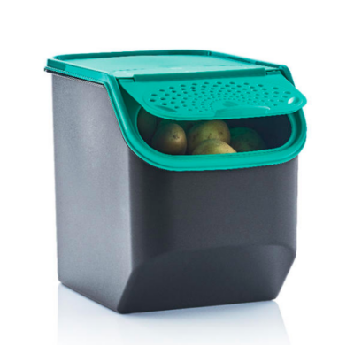 Lélegző kamra burgonyához 5,5 L türkiz Tupperware