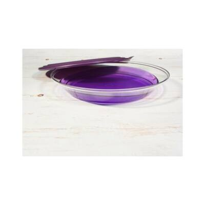 Lapos Elegancia tál 1,5 L lila Tupperware