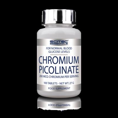 SE Chromium Picolinate 100 tabl. Scitec Essentials