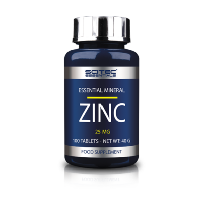 SE Zinc (25mg) 100 tabl. Scitec Essentials