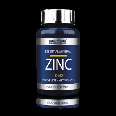 SE Zinc (25mg) 100 tabl. Scitec Essentials