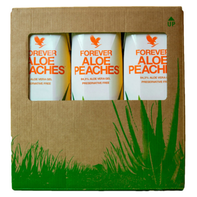 Tripack Aloe Peaches 3 x 1 L Forever Living Products