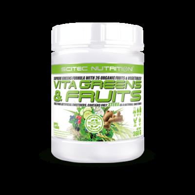 Green Series Vita Greens&Fruits Stevia-val 360g alma Scitec Nutrition