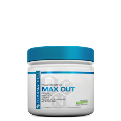 PF Max Out 360g alma Pharma First Nutrition