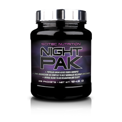 Night Pak 28 tasak Scitec Nutrition