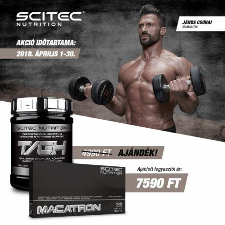 Macatron 108 kapsz.+ ajándék TGH Scitec Nutrition Hardcore