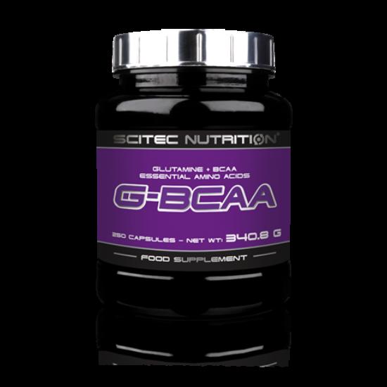 G-BCAA 250 kapsz. Scitec Nutrition