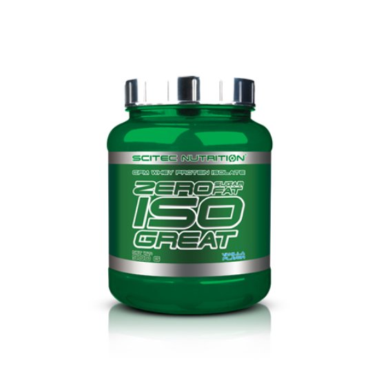 Zero Sugar/Zero Fat Isogreat(Zero Carb Isobest) Scitec Nutrition