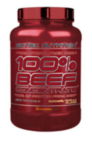 Image of 100% Beef Concentrate 1000g karamell-vanília Scitec Nutrition