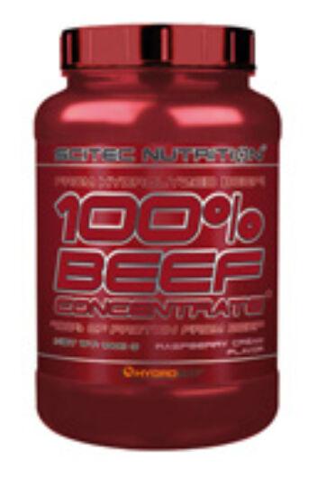 Image of 100% Beef Concentrate 1000g málnakrém Scitec Nutrition