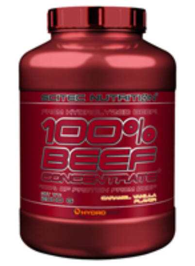 Image of 100% Beef Concentrate 2000g karamell-vanília Scitec Nutrition