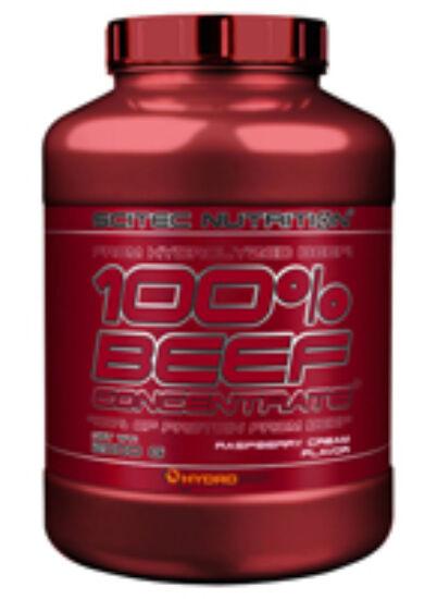 Image of 100% Beef Concentrate 2000g málnakrém Scitec Nutrition