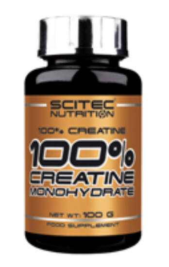 Image of 100% Creatine Monohydrate 100g Scitec Nutrition