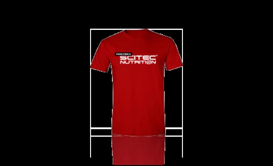 T-Shirt Push FWD férfi piros póló Scitec Nutrition - SCITEC FÉRFI PÓLÓ 9775d9e49a